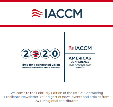 IACCM Feb20 Newsletter